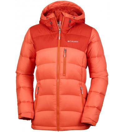 Veste Columbia Sylvan Lake 630 Turbodown Hooded Jacket (Hot pepper, sail red)