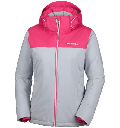 Veste Columbia Snow Dream Jacket (gris,rose) - Femme