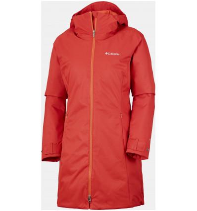 Veste longue Columbia Autumn Rise Mid Jacket (Sail red) femme