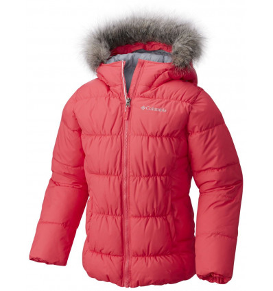 Veste hiver Columbia Gyroslope Jacket (Punch pink) fille