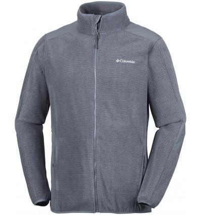 Polaire Columbia Tough Hiker Full Zip Fleece (graphite)