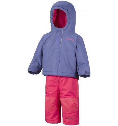 Combinaison Columbia Buga Set (Eve, punch pink) enfant