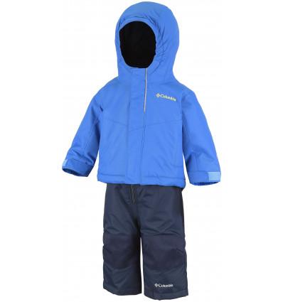 Combinaison Columbia Buga Set (Super blue, collegiate navy) enfant
