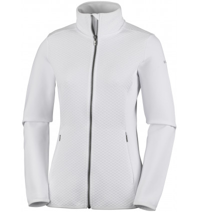Veste polaire Columbia Roffe Ridge Full Zip Fleece (White) femme