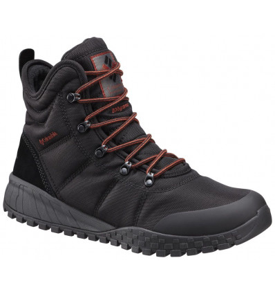 Bottes Columbia Fairbanks Omni-heat (black, Rusty) homme