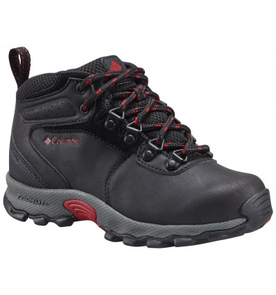 Chaussures Columbia Childrens Newton Ridge (black, Mountain Red)
