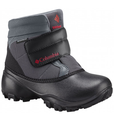 Bottes Columbia Childrens Rope Tow Kruser (Graphite, bright red) enfant