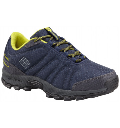 Chaussures Columbia Childrens Firecamp Sledder II Wp (Collegiate navy, ginkgo) enfant