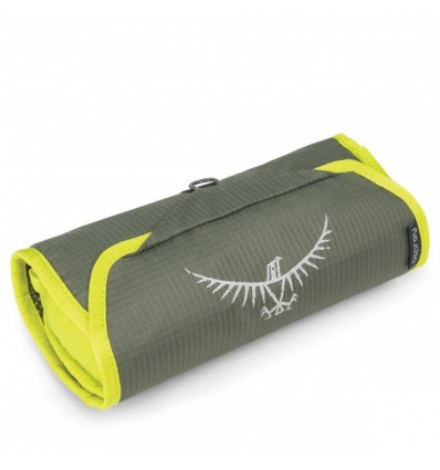 Trousse toilette Osprey Ultralight Washbag Roll (Electric Lime)