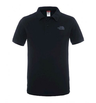 Polo Piquet Tnf Black - The North Face homme