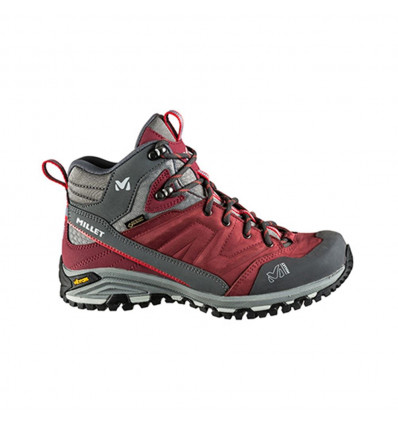 Chaussure randonnée MILLET Hike Up Mid (Burgundy) femme