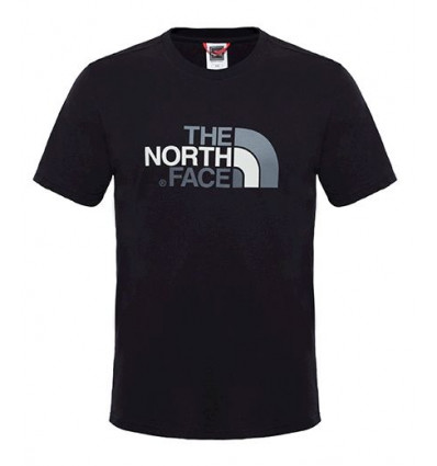 Tee-shirt M S/s Easy Tee The North Face (TNF Black) homme