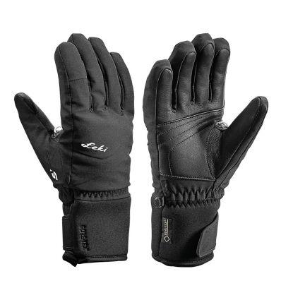 Gants Leki Glove Scero S (Black)