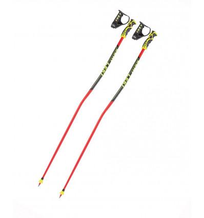 Bâtons de ski Leki Carbon Gs ( Black-white-neonyellow )