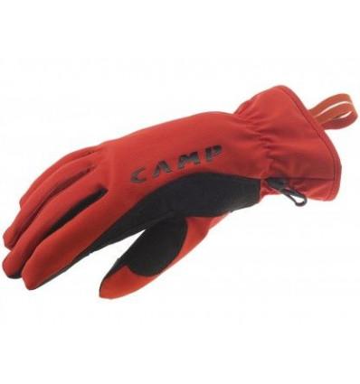 Gants Geko Touch Red Black Camp