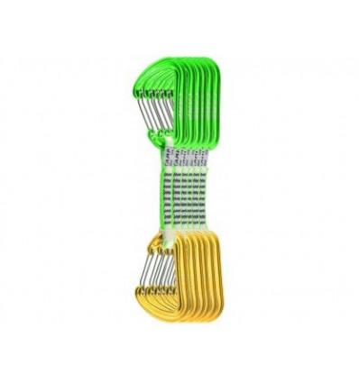 Pack 6 dégaines CAMP Photon Wire Express Ks Dyneema (vert/jaune)