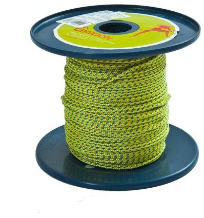 Cordes Cordelette 2mm Treatment Standard - YELLOW - 100 m Tendon - AlpinStore