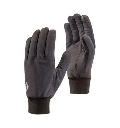 Gants coupe vent BLACK DIAMOND Lightweight Softshell (Smoke)