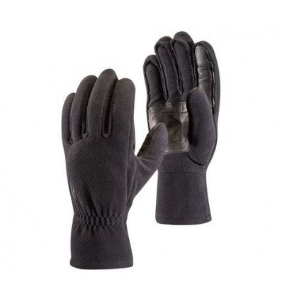 Gants Midweight Windblock Fleece Black Diamond (Black)