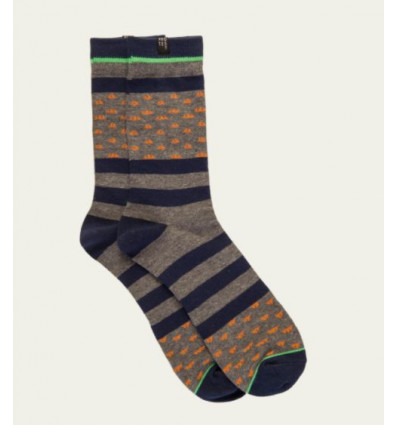 Chaussettes Protest TRAVIST lifestyle socks (Ground Blue)