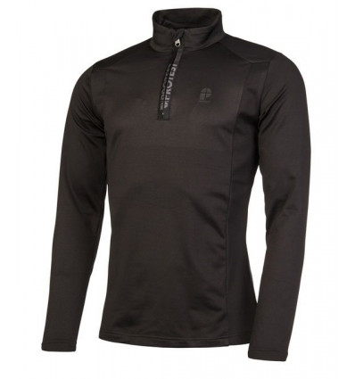 Polaire Protest WILLOWY 1/4 zip top (True Black)