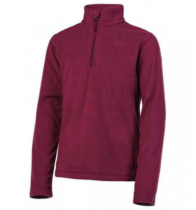 Polaire Protest MUTEY JR 1/4 zip top (Beet Red) fille