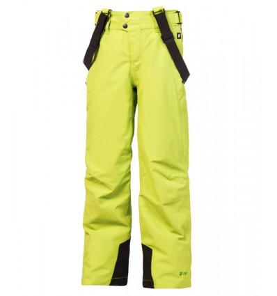 Pantalon de ski Protest BORK JR snowpants (Electic Lime)