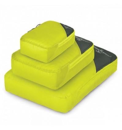 Sac rangement Osprey Ultralight Packing Cube Set (electric lime)