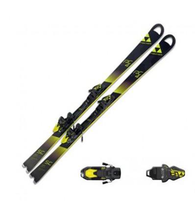 Pack Ski + fixation Fischer - Rc4 Wc Rc Rt + Rc4 Z12 Pr