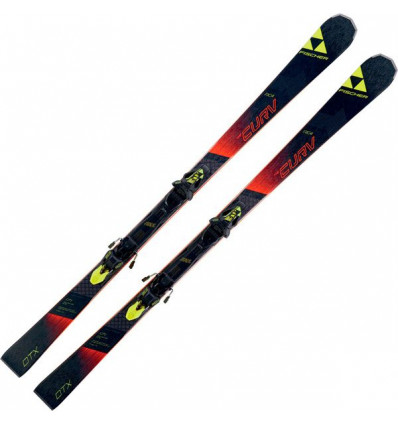 Pack Ski + Fix Rc4 The Curv Dtx Rt + Rc4 Z12 Rt Fischer