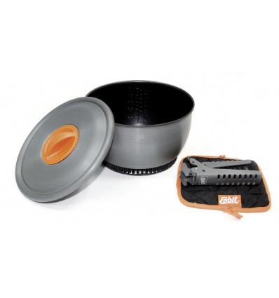 Vaisselles Gamelle 2.35 L Avec Echangeur ( Phe2350wn ) - AlpinStore