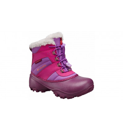 Bottes de neige Columbia Youth Rope Tow III Waterproof (northern Lights, Melonade) enfant