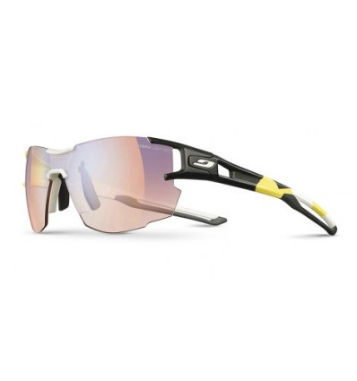 Lunettes de soleil Julbo Aerolite (Og Yellow / White / BlackZebra Light Red Multilayer Blue)