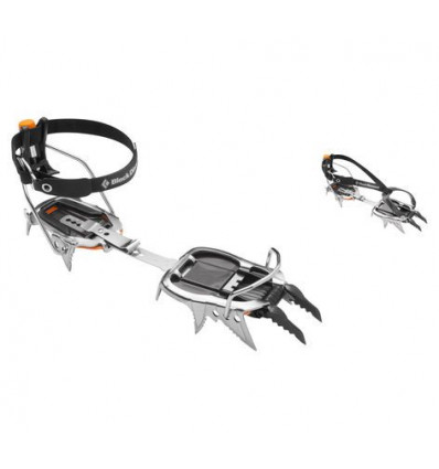 Crampons Black Diamond Cyborg Pro (gris/noir)