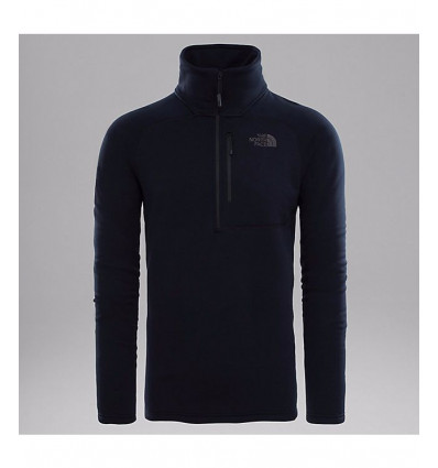 Polaire M Flx 2 Pwrstrtch Fz Tnf Black - homme - The North Face