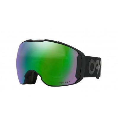 Masque de ski AIRBRAKE® XL PRIZM™ Ski Oakley (Factory pilot black out - Prizm jade)