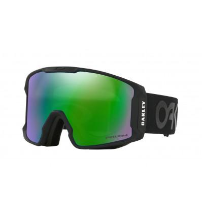 Masque de Ski LINE MINER™ PRIZM™ Oakley (Matte black - Prizm goggle jade irid)