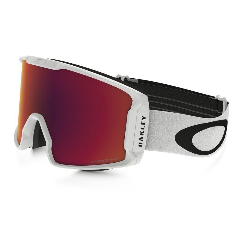 Masque de Ski LINE MINER™ PRIZM™ Oakley (Matte white- Prizm torch)