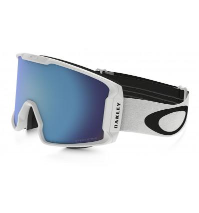 Masque de Ski LINE MINER™ PRIZM™ Oakley (Matte white- Prizm sapphire iridium)