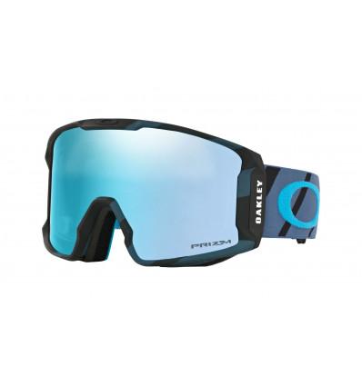 Masque de Ski LINE MINER™ PRIZM™ Oakley (Hazard bar iron - Prizm sapphire iridium)
