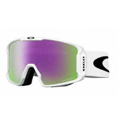 Masque de Ski LINE MINER™ PRIZM™ Oakley (Matte white- Prizm hi pink iridium)