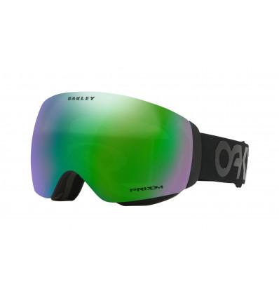 Masque de Ski FLIGHT DECK™ XM PRIZM™ Oakley (Factory pilot black out - Prizm jade iridium)
