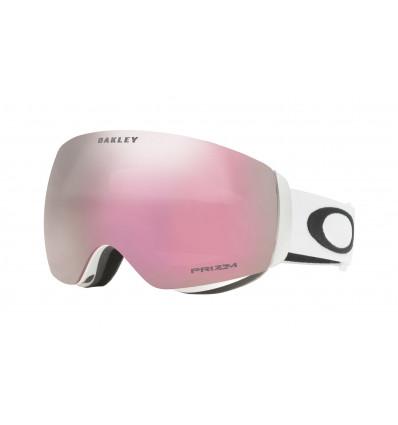 Masque de Ski FLIGHT DECK™ XM PRIZM™ Oakley (Matte white - Prizm hi pink iridium)