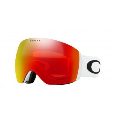 Masque de Ski FLIGHT DECK™ PRIZM™ Oakley (Matte white - Prizm torch iridium)