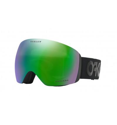Masque de Ski FLIGHT DECK™ PRIZM™ Oakley (Factory pilot blackout - Prizm jade iridium