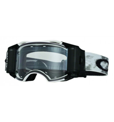 Masque de Ski Airbrake Mx Oakley (Matte white speed rr - Clear)