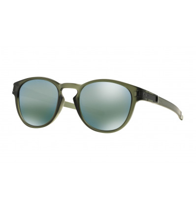 Lunettes de Soleil LATCH™ Oakley (Matte olive ink - Emerald iridium)