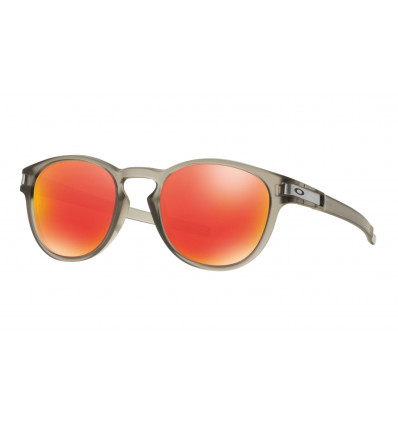 Lunettes soleil Oakley LATCH™ (Matte grey ink - Ruby iridium)