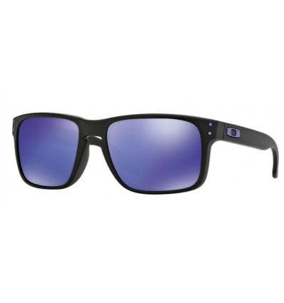 Lunettes de Soleil HOLBROOK™ Oakley Julian Wilson (Matte black - Violet Iridium)