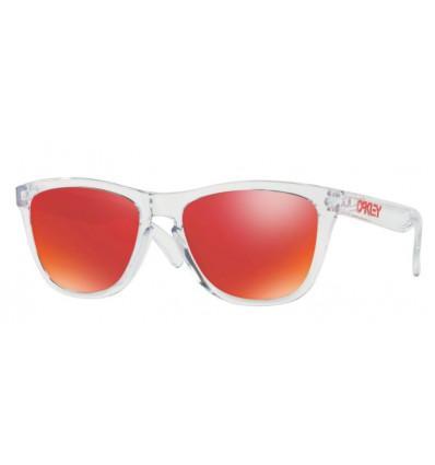 Lunettes de Soleil FROGSKINS® Oakley (Polished clear - Torch iridium)